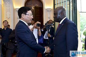 Bờ Biển Ngà hoan nghênh các doanh nghiệp Việt Nam sang đầu tư kinh doanh