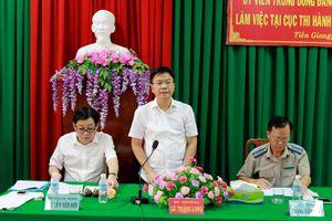 Bộ trưởng Lê Thành Long: THADS Tiền Giang cần tăng cường thanh kiểm tra các mặt công tác