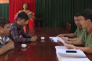 Phú Thọ: Xử phạt hành chính nhóm thanh niên 'chỉ điểm' chốt cảnh sát