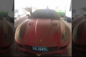Xe sang Ferrari gần 3 tỷ rao bán giá chưa đến 6 triệu