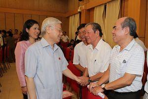 Ngày mai, Tổng Bí thư, Chủ tịch nước Nguyễn Phú Trọng tiếp xúc cử tri tại Hà Nội