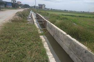 Thanh Hóa: Dự án 4,9 tỷ đồng bỏ hoang nhiều tháng, hơn 200 ha ruộng không nước tưới