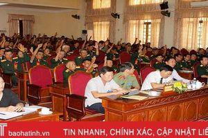 Can Lộc tổ chức đại hội điểm Đại hội thi đua 'Cựu chiến binh gương mẫu'