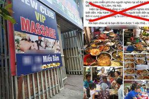 Ngàn người chia sẻ địa chỉ quán cơm từ thiện ở Hà Nội, ra tận nơi thấy tiệm mát xa VIP