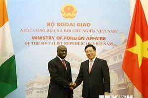 Việt Nam luôn coi trọng phát triển quan hệ hữu nghị với Côte d'Ivoire