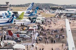 Triển lãm hàng không ở thủ đô Paris của Pháp