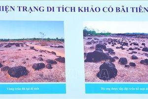 Di tích Thành đất hình tròn Lộc Tấn 2 là di tích khảo cổ quốc gia