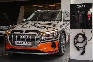 Audi Việt Nam trưng bày xe chạy hoàn toàn bằng điện ở 3 thành phố lớn