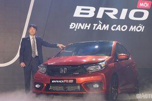 Honda Brio chính thức ra mắt, giá từ 418 triệu đồng