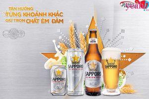 Ăn mừng chuẩn Nhật với Sapporo Premium Beer