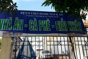 Bếp ăn Bệnh viện HNĐK Nghệ An bị xử phạt về an toàn thực phẩm