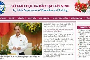 Điểm chuẩn lớp 10 ở Tây Ninh năm 2019