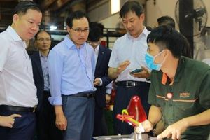 Samsung Việt Nam hỗ trợ doanh nghiệp công nghệ cao, khuôn mẫu ép nhựa và mạ nhựa