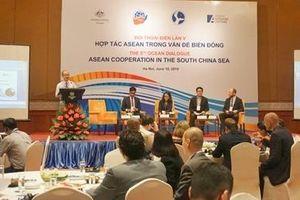 Mở khóa giải pháp thúc đẩy hợp tác ASEAN trong vấn đề Biển Đông