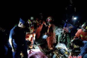 5 trận động đất liên tiếp xảy ra tại Tứ Xuyên, Trung Quốc