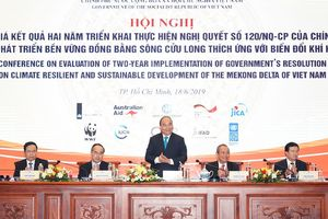 Thủ tướng chủ trì hội nghị đánh giá 2 năm thực hiện Nghị quyết 120