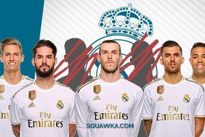 11 ngôi sao có thể bị Real Madrid thanh lý để lấy tiền mua Paul Pogba