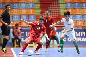 Nỗ lực tận cùng, U20 Việt Nam vẫn không thể vào bán kết Futsal U20 châu Á 2019