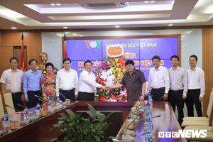 Giám đốc Học viện Chính trị Quốc gia Hồ Chí Minh chúc mừng VOV nhân ngày 21/6