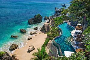 Indonesia đẹp như tranh vẽ trong thước phim từ trên cao