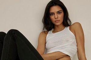 Kendall Jenner thả rông trong bộ ảnh thời trang