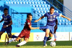 Bình Dương 0-0 PSM: Anh Đức sút phạt nguy hiểm