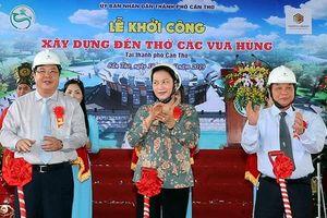 Chủ tịch QH Nguyễn Thị Kim Ngân tiếp xúc cử tri và làm việc tại TP Cần Thơ