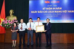 Báo Nhân Dân tổ chức mít-tinh kỷ niệm 94 năm Ngày Báo chí cách mạng Việt Nam