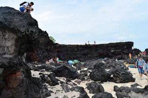 Lý Sơn lưu giữ nhiều báu vật địa chất