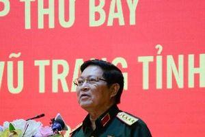 Đại tướng Ngô Xuân Lịch tiếp xúc cử tri lực lượng vũ trang nhân dân tỉnh Hà Nam