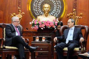Lãnh đạo TPHCM đánh giá cao nỗ lực của Đại sứ đặc mệnh toàn quyền Australia