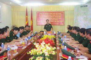 Thượng tướng Phan Văn Giang thăm, làm việc với BĐBP Ninh Thuận
