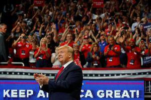 Ông Trump mở chiến dịch tái tranh cử, cam kết 'giữ nước Mỹ vĩ đại'