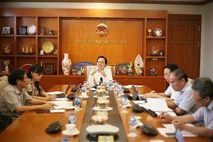 Bộ trưởng Phùng Xuân Nhạ: Rà soát thật kỹ danh sách cán bộ coi thi và thanh tra
