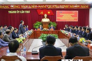 Cần Thơ thúc đẩy hợp tác nông nghiệp với thủ đô Vientiane của Lào
