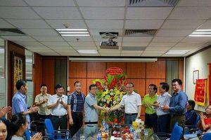 Chủ tịch Hội Luật gia Việt Nam chúc mừng báo Người Đưa Tin nhân ngày Báo chí cách mạng Việt Nam