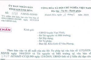 Khánh Hòa: Cho phép giao dịch đất Bắc Vân Phong