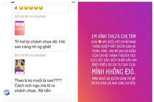 Bị chê nói chuyện cộc lốc Minh Tú lên tiếng 'chấn chỉnh' thái độ anti-fan