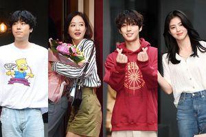 Tiệc liên hoan 'Abyss': Park Bo Young đọ sắc Han So Hee, Ahn Hyo Seop đẹp trai phong cách