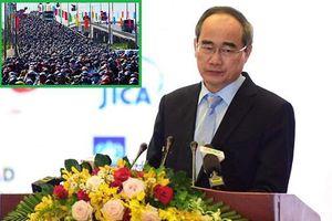 Bí thư Nguyễn Thiện Nhân: 'Đầu tư giao thông cho TP.HCM và miền Tây thấp và chậm'