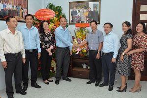 Lãnh đạo TP Hồ Chí Minh thăm, chúc mừng Cơ quan Đại diện các tỉnh phía Nam của Báo điện tử Đảng Cộng sản Việt Nam