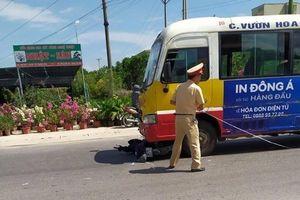 Nam thanh niên tử vong sau khi bị xe buýt cuốn vào gầm