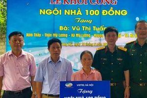 Huyện đoàn Chương Mỹ: Khởi công xây dựng 'Ngôi nhà 100 đồng'
