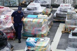 Mỹ bắt giữ tầu chở 16,5 tấn cocain trị giá hơn 1 tỷ USD