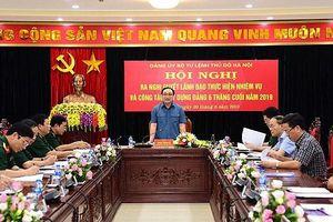 Hà Nội: Nâng cao tinh thần cảnh giác của cán bộ chiến sĩ, giữ vững thế trận quốc phòng an ninh