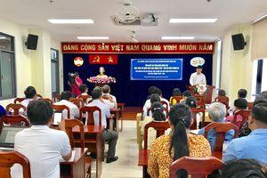 Trao giải cuộc thi 'Mặt trận Tổ quốc Việt Nam thành phố Hồ Chí Minh - Dấu ấn một nhiệm kỳ'