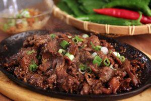 Tối nay ăn gì: Bò sốt BBQ Hàn Quốc thơm ngon khó cưỡng