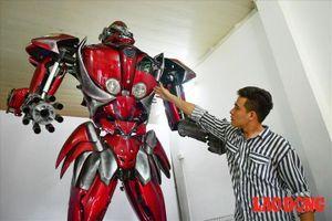 Chế tạo người máy 'Transformer' từ... rác thải