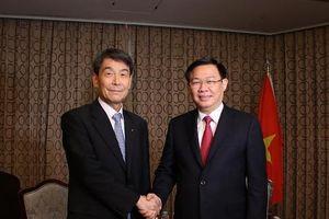 Phó Thủ tướng tiếp lãnh đạo các ngân hàng, doanh nghiệp Hàn Quốc