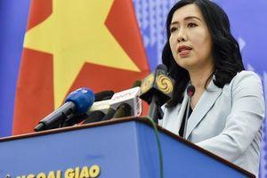 Người phát ngôn trả lời về thông tin hàng Trung Quốc 'đội lốt' hàng Việt Nam xuất sang Mỹ
